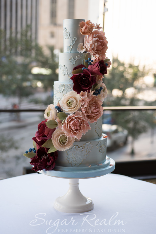 Cincinnati Wedding Cakes Sugar Realm